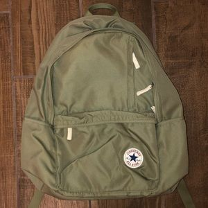 🌺Final Price🌺 NWOT Converse olive green backpack